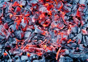 22148089 - background of the hot charcoal